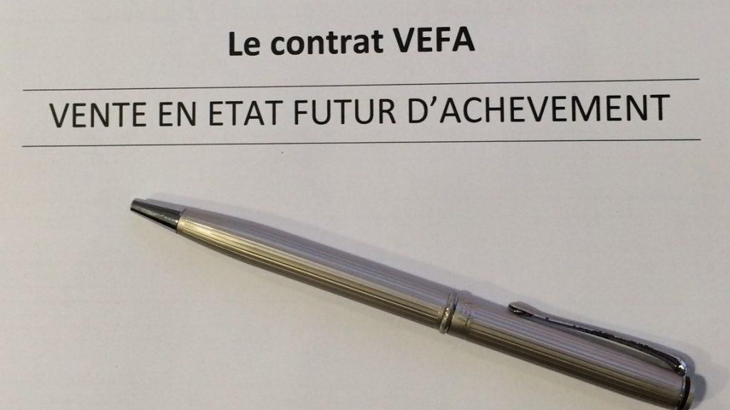 La vente en VEFA