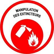 Manipuler un extincteur